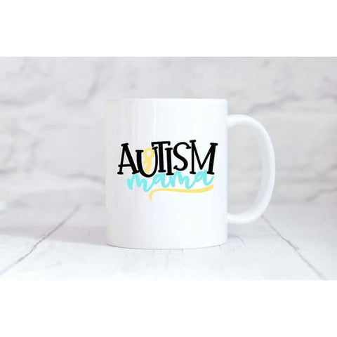 Autism Mama Coffee Mug - Simply Crafty