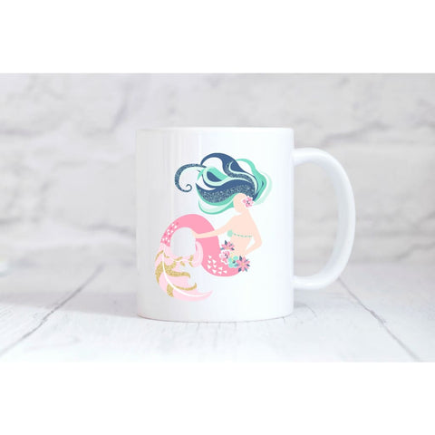 Beautiful Mermaid 1 Coffee Mug - Simply Crafty