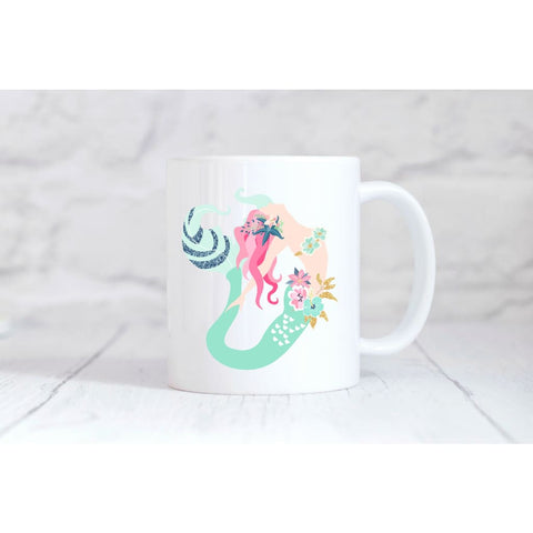 Beautiful Mermaid 2 Coffee Mug - Simply Crafty