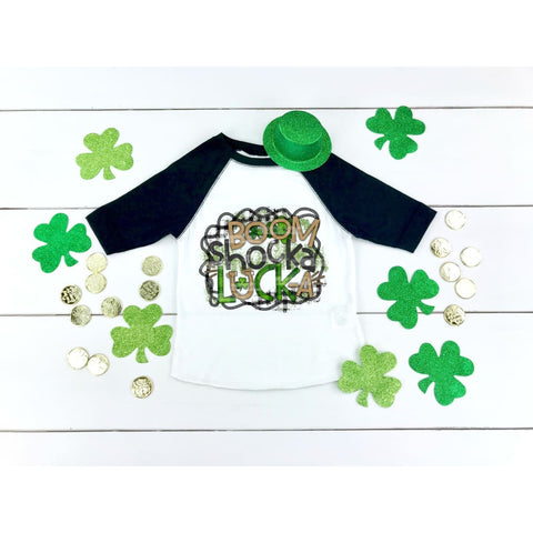 Boom Shocka Funny Girls St Patricks Day Shirt - Shirts
