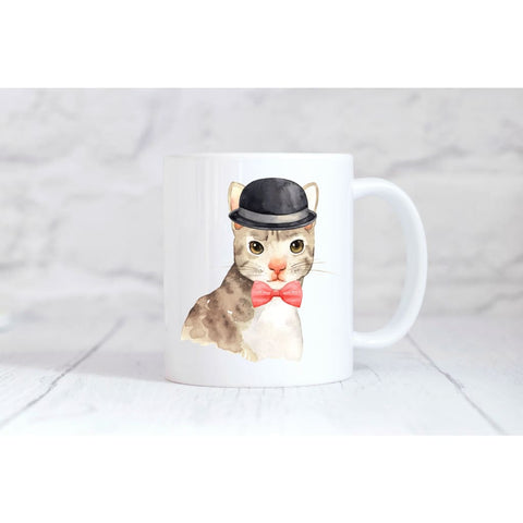Brown Cat Coffee Mug - Simply Crafty