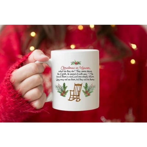 Christmas In Heaven Coffee Mug - Simply Crafty