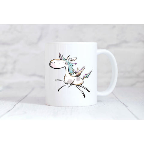 Flying Unicorn Coffee Mug - Mugs