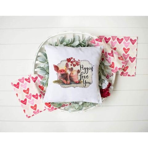Funny Food Friendship Valentine's Day Gift Throw Pillow - Simply Crafty