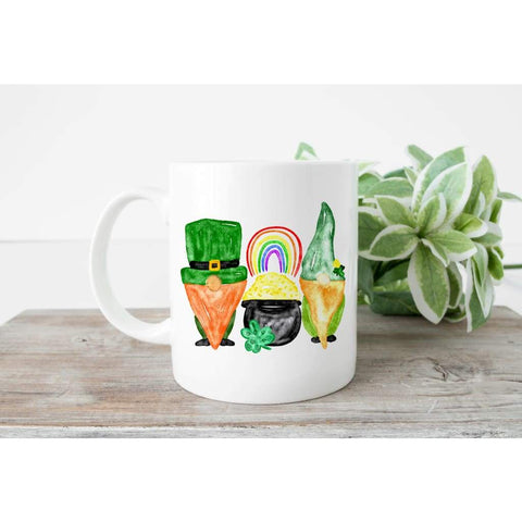 Gnome St Patrick's Day Coffee Mug - Simply Crafty