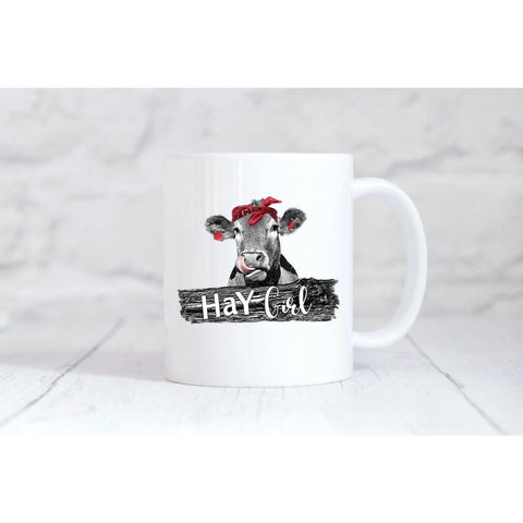 Hay Girl Coffee Mug - Mugs