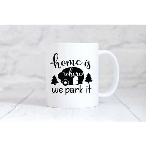 Home Is Where We Park It Coffee Mug - Simply Crafty