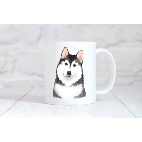 Husky Coffee Mug - Simply Crafty