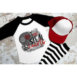 I Steal Hearts Funny Boys Valentine's Day Shirt - Simply Crafty