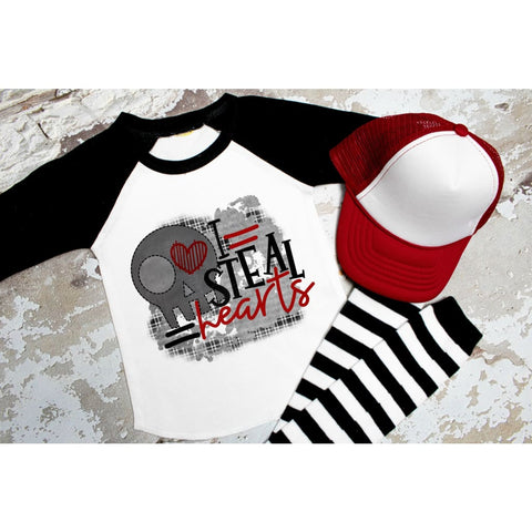 I Steal Hearts Funny Boys Valentines Day Shirt - Shirts