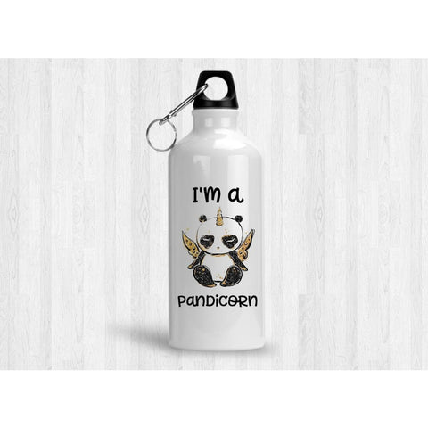 I'm a Pandicorn 20 oz Metal Water Bottle - Simply Crafty