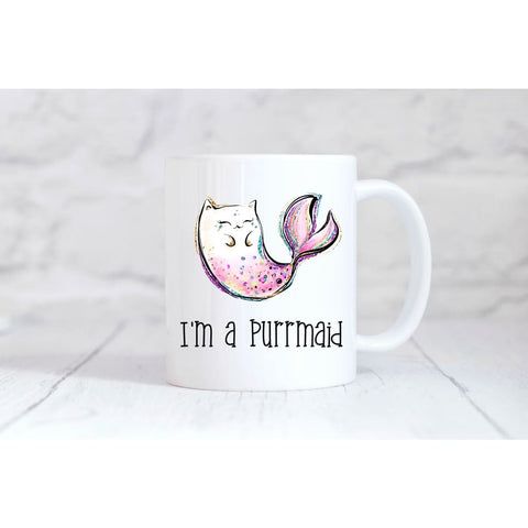 I'm a Purrmaid Coffee Mug - Simply Crafty