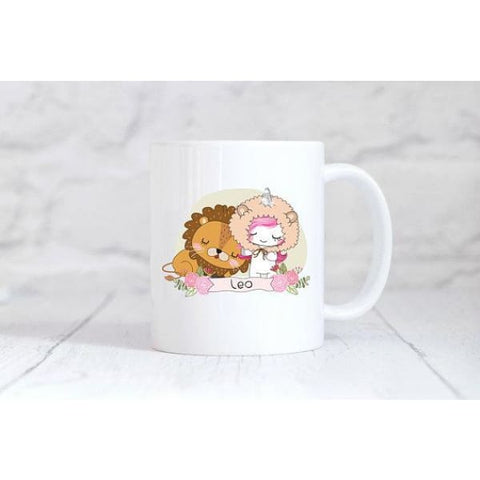 Leo Zodiac Unicorn Coffee Mug - Simply Crafty