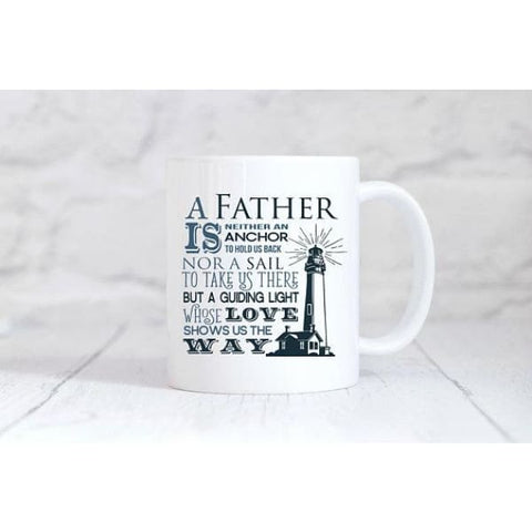 Lighthouse Dad Coffee Mug - Mugs
