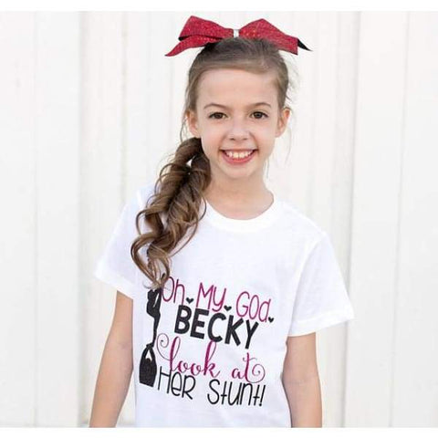 Look At Her Stunt Shirt - Simply Crafty