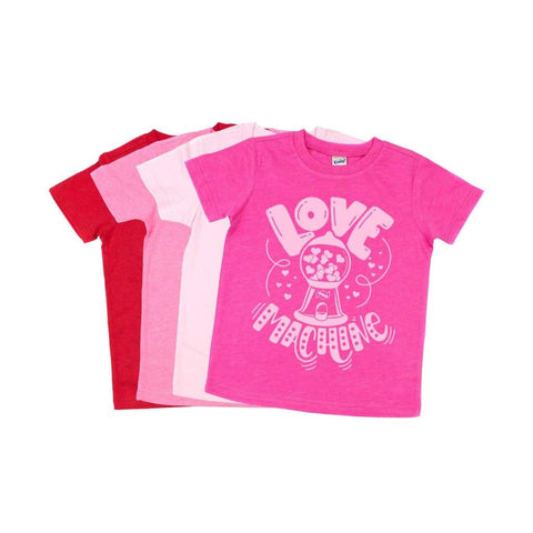 Love Machine Gumball Kids Valentine's Day Shirt - Simply Crafty