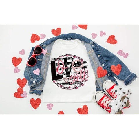 Love Y'all Girls Valentine's Day Shirt - Simply Crafty