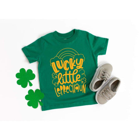 Lucky Leprechaun Boys St Patrick's Day Shirt - Simply Crafty