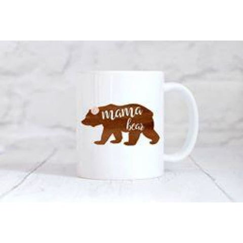 Mama Bear Coffee Mug - Simply Crafty