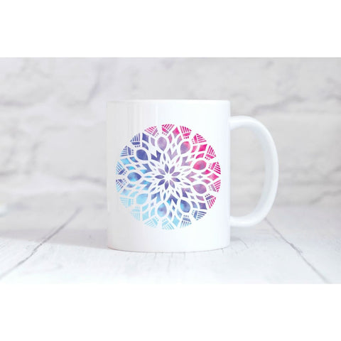 Mandala 3 Coffee Mug - Simply Crafty