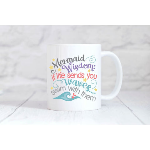Mermaid Wisdom Coffee Mug - Mugs