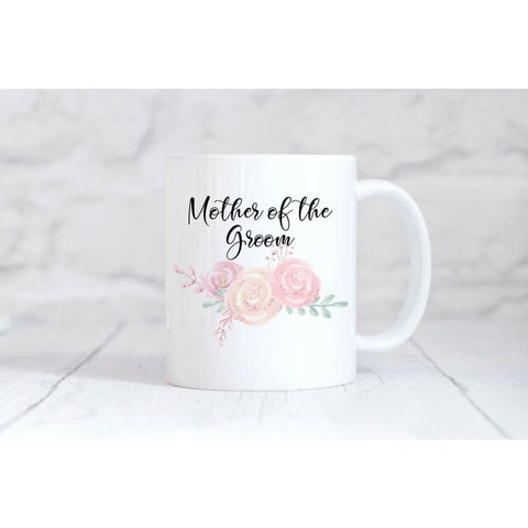Mother Of The Groom Coffee Mug - Simply Crafty