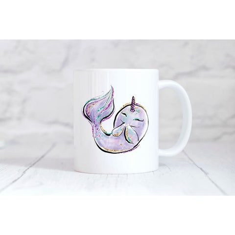 Narwhal Coffee Mug - Mugs