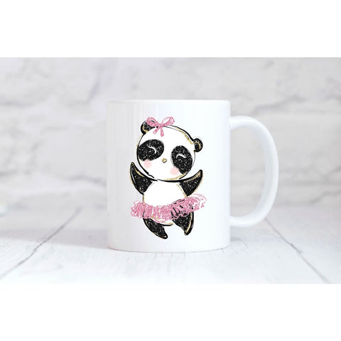 Panda Ballerina Coffee Mug - Mugs