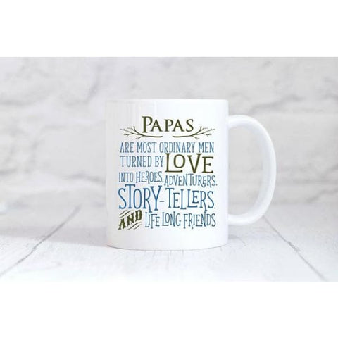 Papas Coffee Mug - Mugs