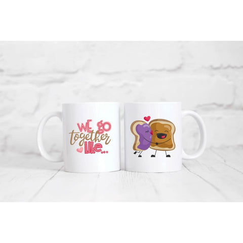Peanut Butter And Jelly Coffee Mug - Simply Crafty