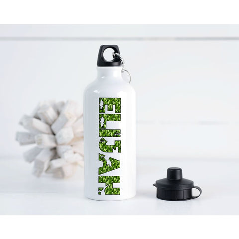 Personalized Dinosaur Boys 20 oz Metal Water Bottle - Simply Crafty