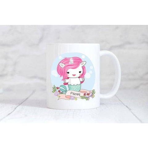 Pisces Zodiac Unicorn Coffee Mug - Simply Crafty