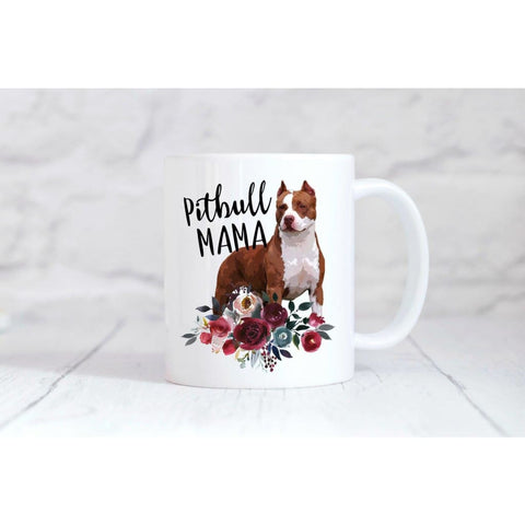 Pitbull Mama Coffee Mug - Simply Crafty