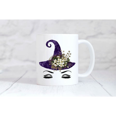 Purple Witch Coffee Mug - Simply Crafty
