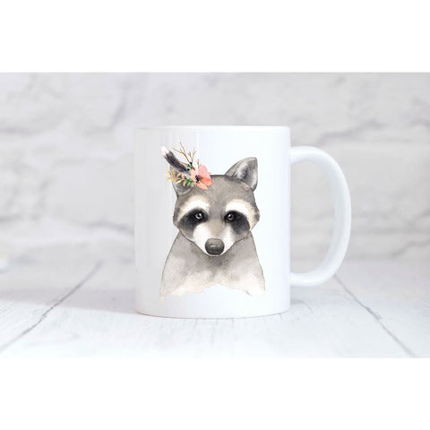 Raccoon Coffee Mug - Simply Crafty