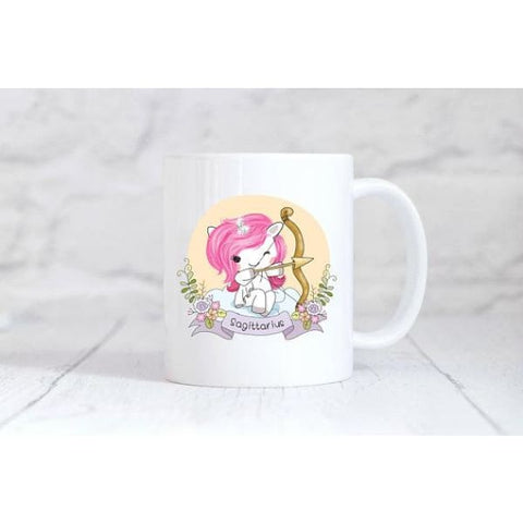 Sagittarius Zodiac Unicorn Coffee Mug - Simply Crafty