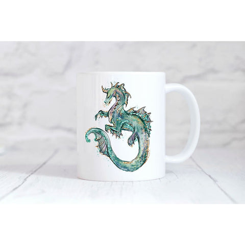 Sea Dragon Coffee Mug - Mugs
