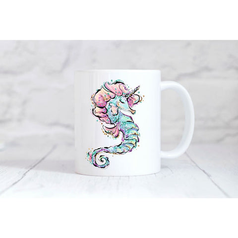 Seahorse Unicorn Coffee Mug - Simply Crafty