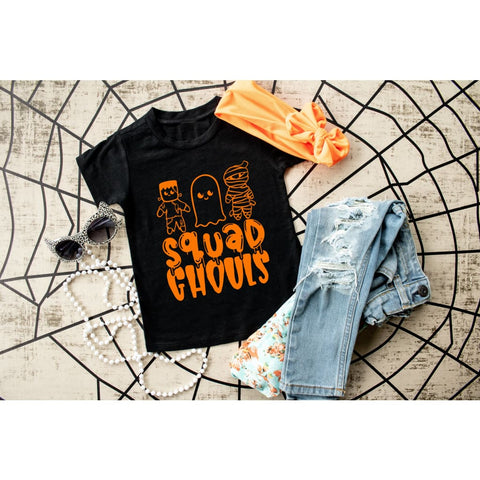 Squad Ghouls Funny Halloween Shirt - Simply Crafty