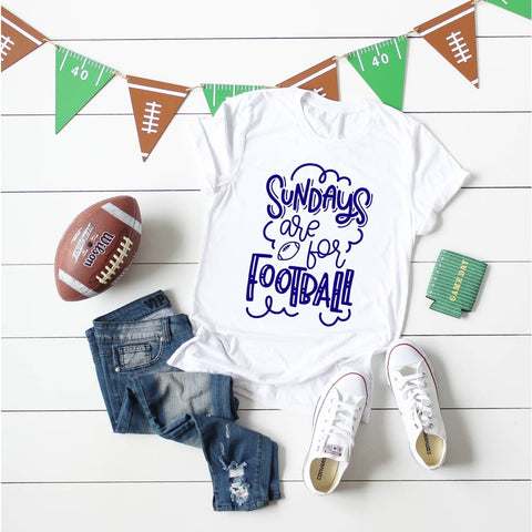 Sundays are for Football Women's Shirt - Simply Crafty