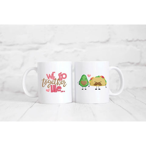 Taco And Avocado Coffee Mug - Simply Crafty
