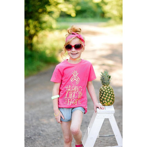 Tropic Like Its Hot Shirt - Simply Crafty
