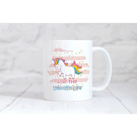 Unicorn Life Coffee Mug - Simply Crafty