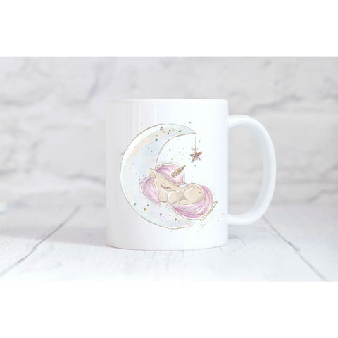 Unicorn Moon Coffee Mug - Simply Crafty