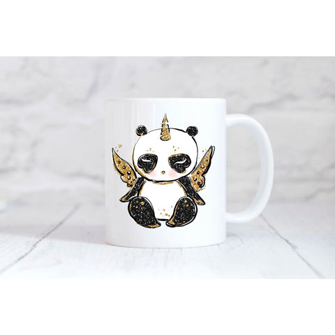 Unicorn Panda Coffee Mug - Simply Crafty