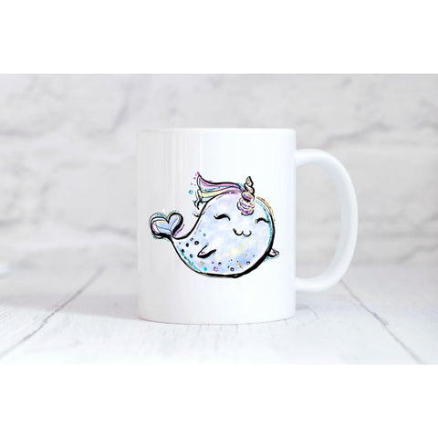 Unicorn Whale Coffee Mug - Simply Crafty