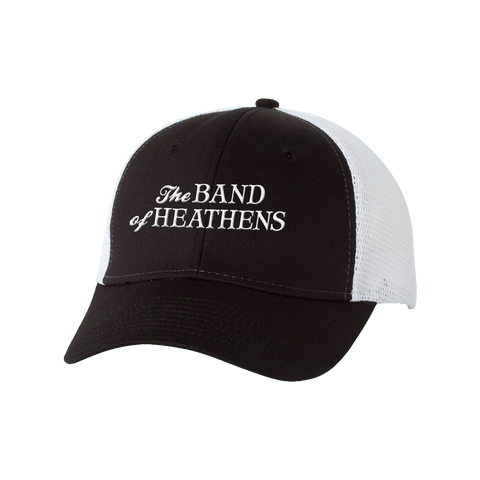 The Band of Heathens Black/White Hat