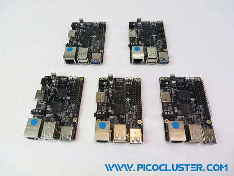 Assemble Rock64 Board Stack High Power – PicoCluster LLC