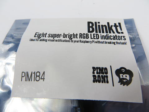 Blinkt! LEDs for PicoCluster