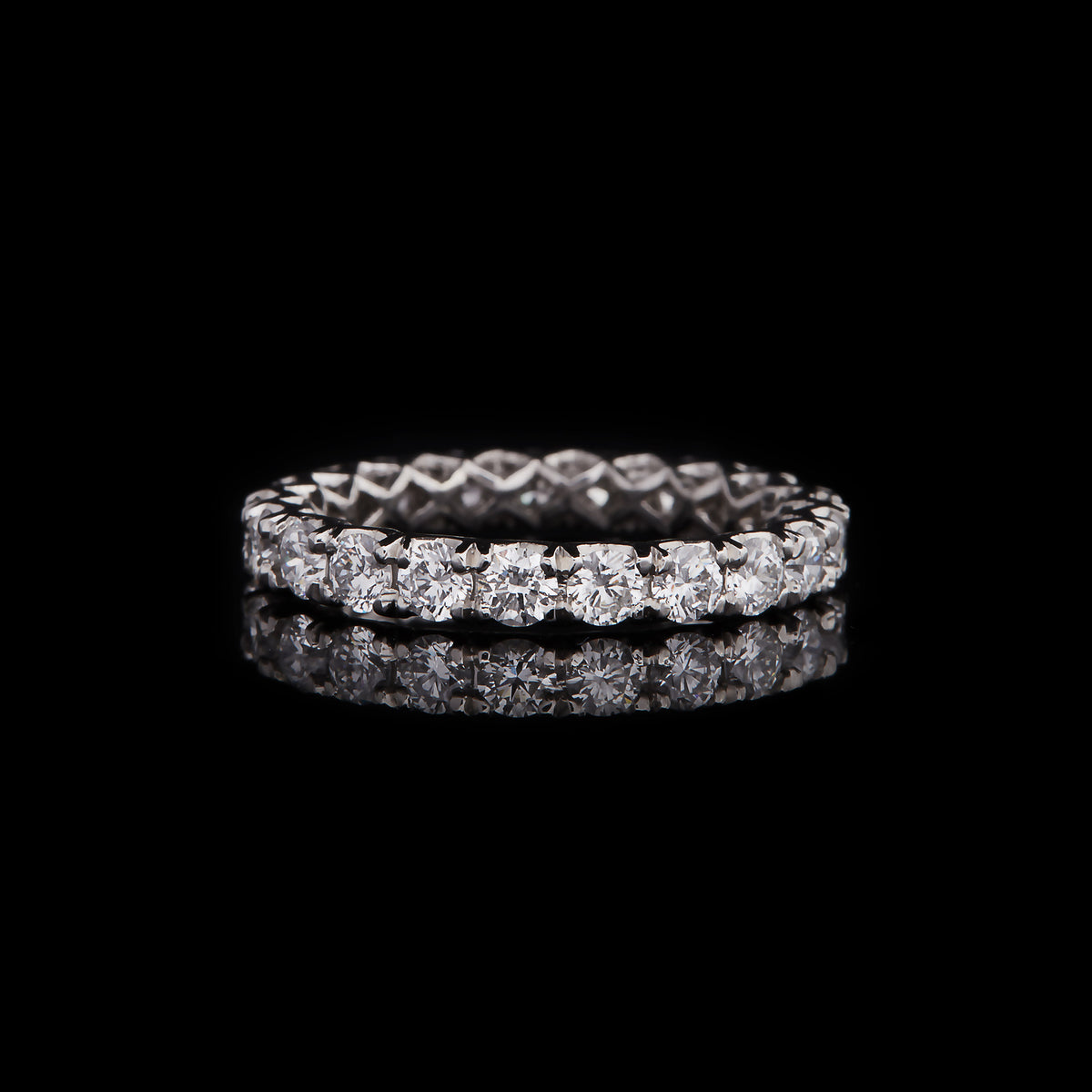 Birdcage Medium Eternity Band
